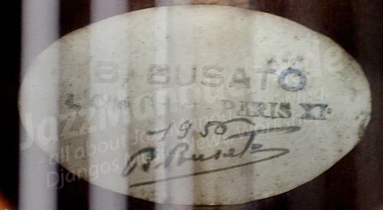 label signature busato-1956